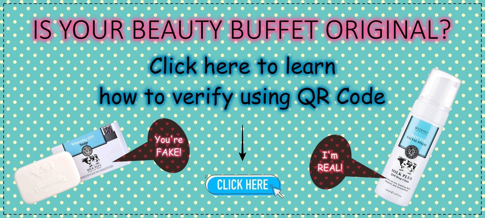 Beauty Buffet Verification